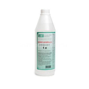Перекись водорода 6%, флакон 1 литр