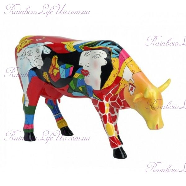 """Статуэтка корова Hommage Picowso's """"Cow Parade"""", Size L"""