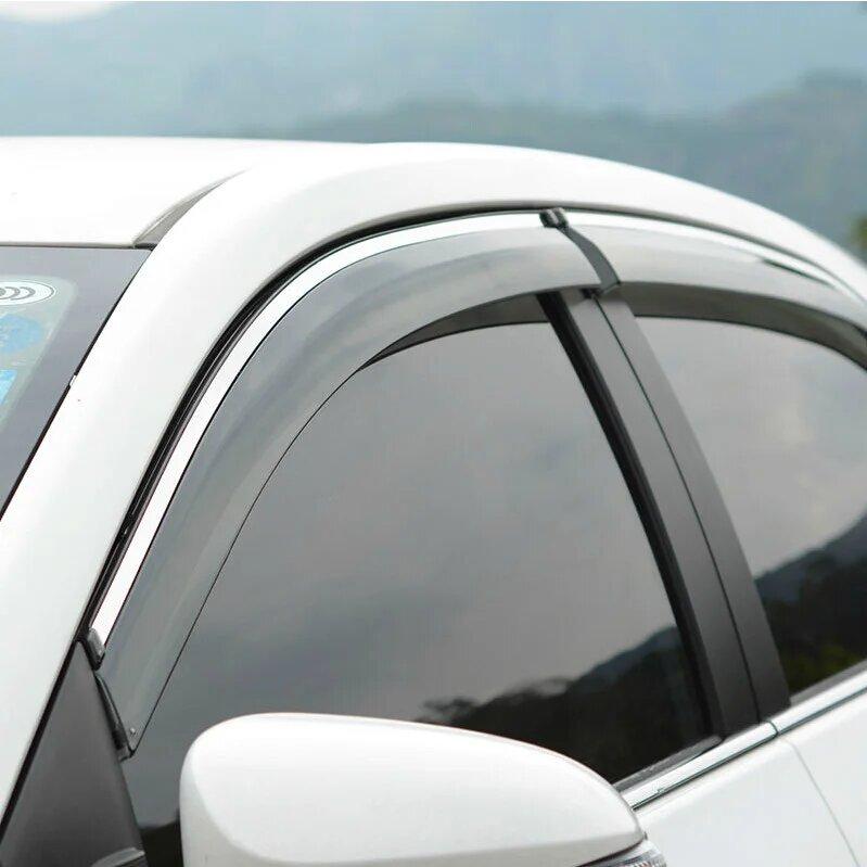 Дефлекторы окон Kia Ceed 5 дверная Хэтчбек (2017-2021г)