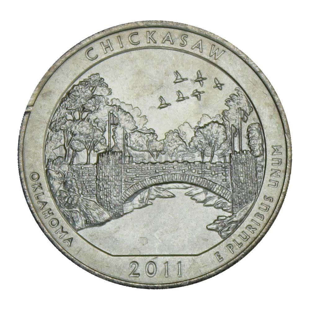25 центов 2011 США Рекреационная зона Чикасо D