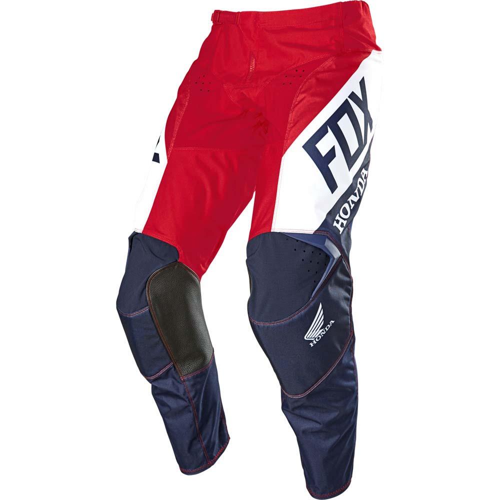 Fox 180 Honda Navy/Red штаны для мотокросса