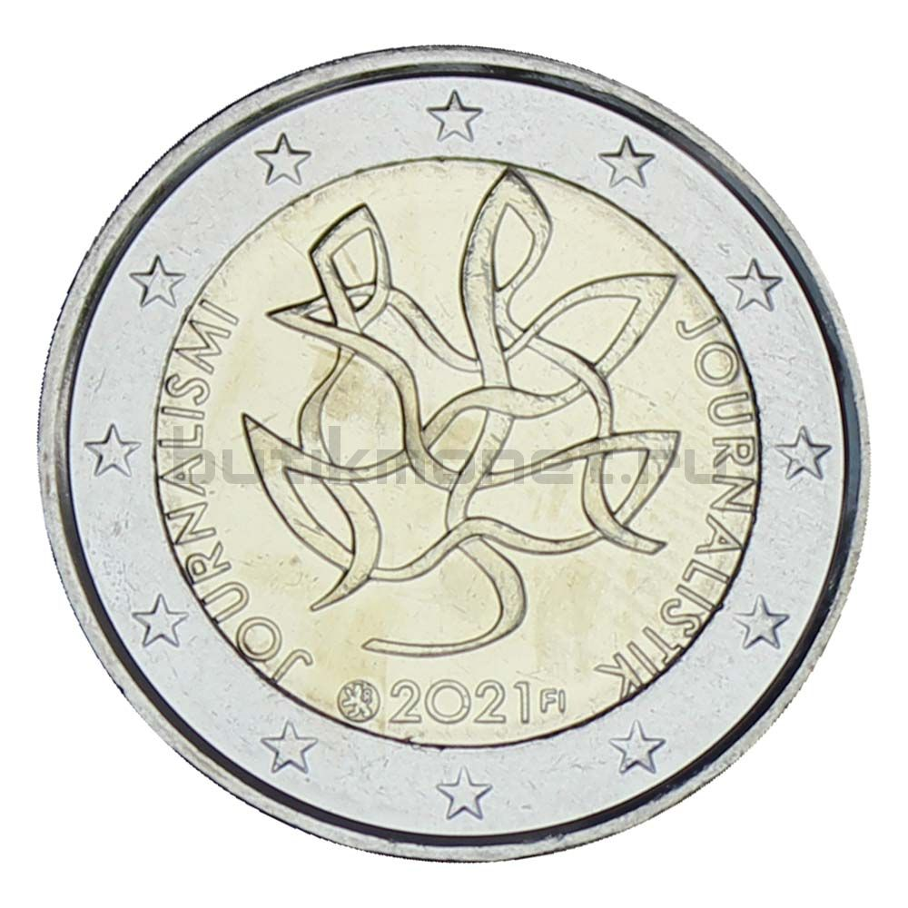 2 евро 2021 Финляндия Журналистика
