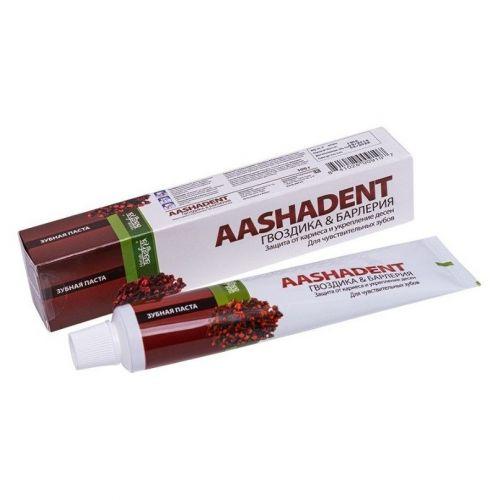 Зубная паста | Гвоздика & Барлерия | 100 г | Aasha