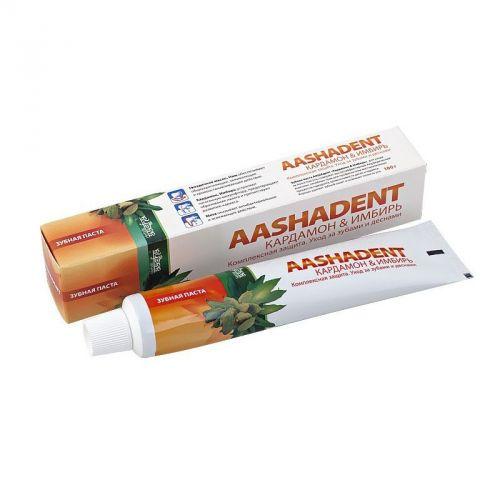 Зубная паста | Кардамон-Имбирь | 100 г | Aasha