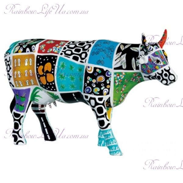 "Коллекционная статуэтка корова ""Cowcado de Impanema"", Size L"