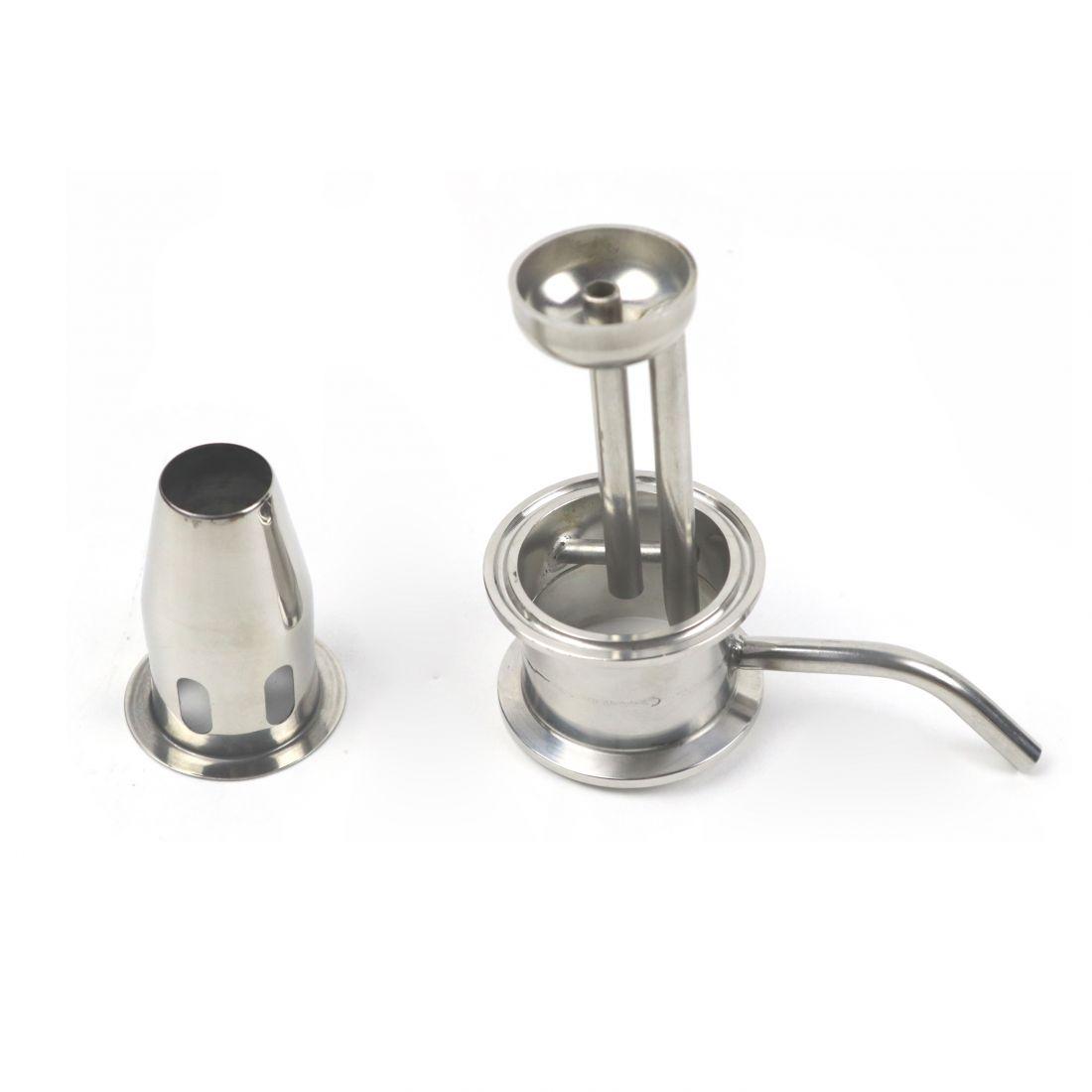 Комплект для узла отбора с чашкой, под диоптр, 2 дюйма