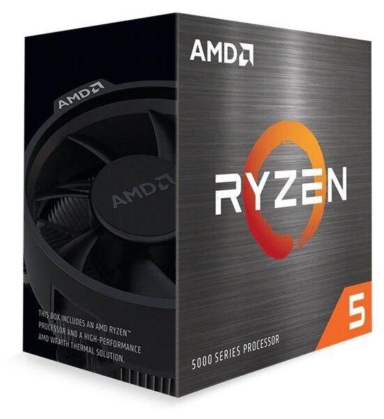 Процессор AMD Ryzen 5 5600X, BOX (100-100000065BOX)