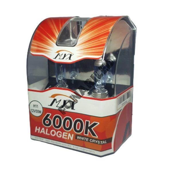 Галогеновые лампы H11 12V 55W 6000K