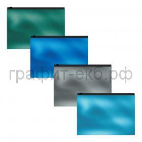 Конверт C6 на молнии ErichKrause Glossy Ice Metallic 53297