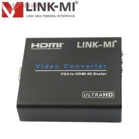 Конвертер LINK-MI LM-VH01-4K2K VGA + Audio в HDMI 4K