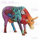 """Коллекционная статуэтка корова """"Hip-hop"""", Size L"""