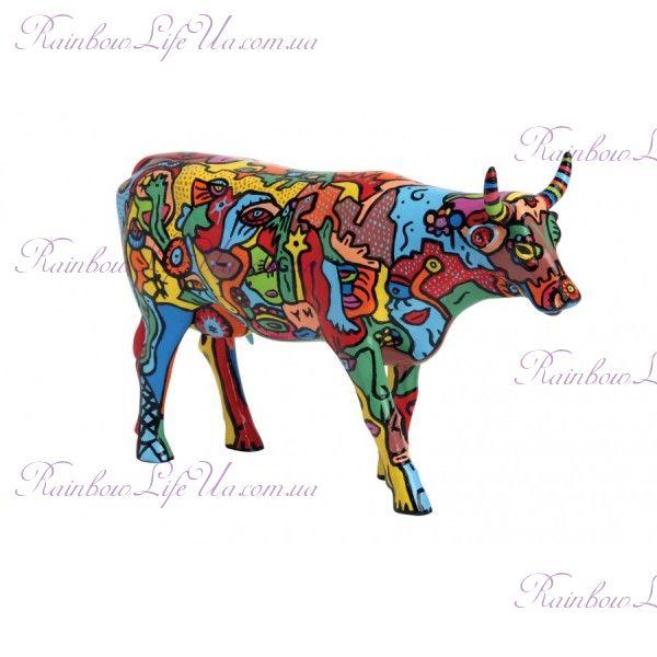 """Коллекционная статуэтка корова """"Moo York Celebration"""", Size L"""