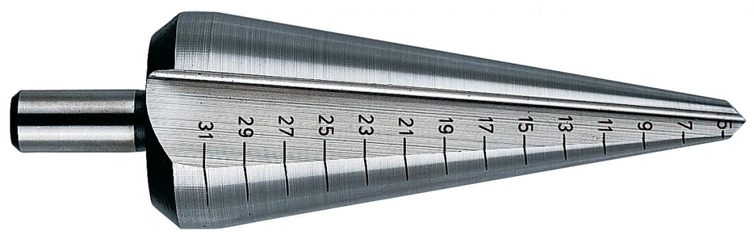 Коническое сверло Heller по металлу HSS 3-14х34х58мм