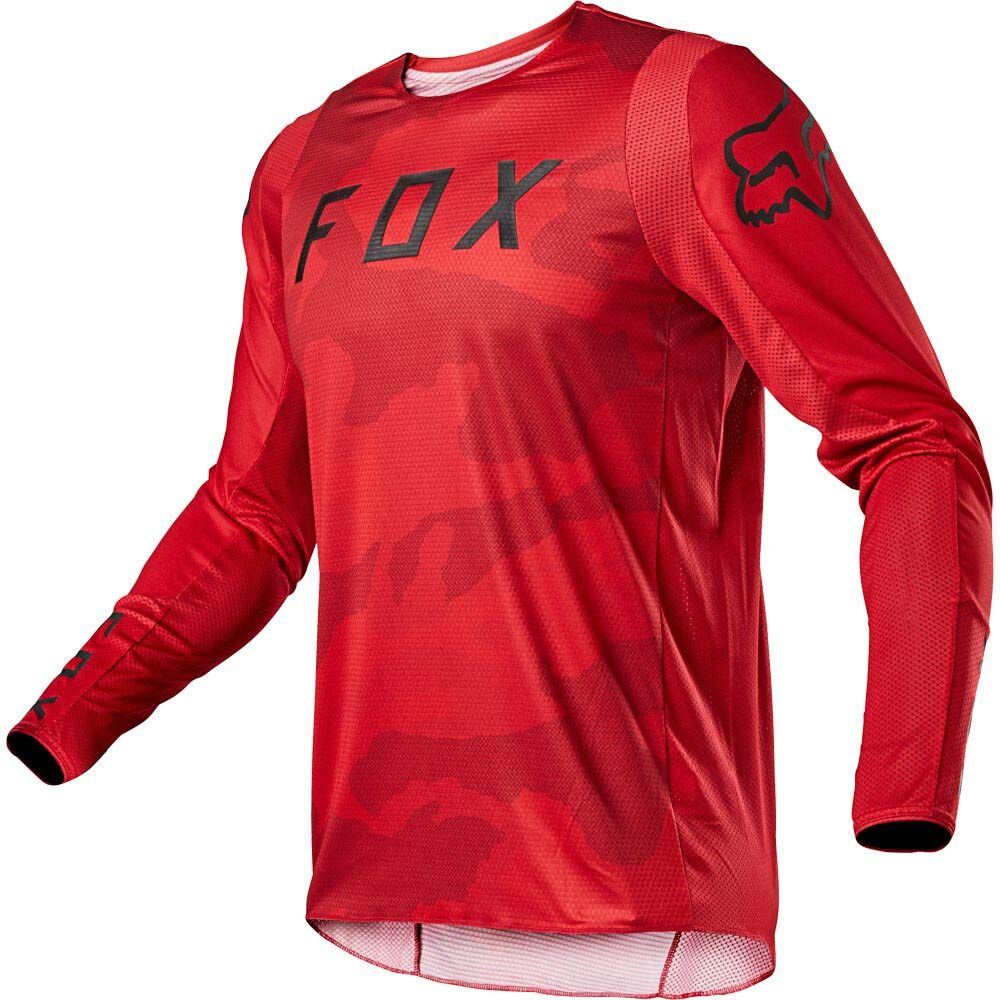 Fox 2021 360 Speyer Flame Red джерси для мотокросса