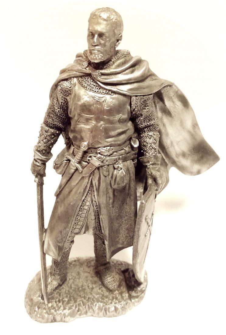 Фигурка Рыцарь ордена меченосцев олово