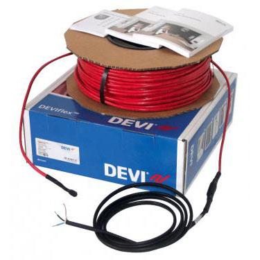 DEVIflex 18T 284 / 310 Вт, длина 18 м, обогрев 1,6-2,2м2