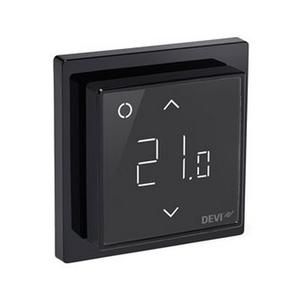 Devi Smart Black (черный) - термостат с WiFi