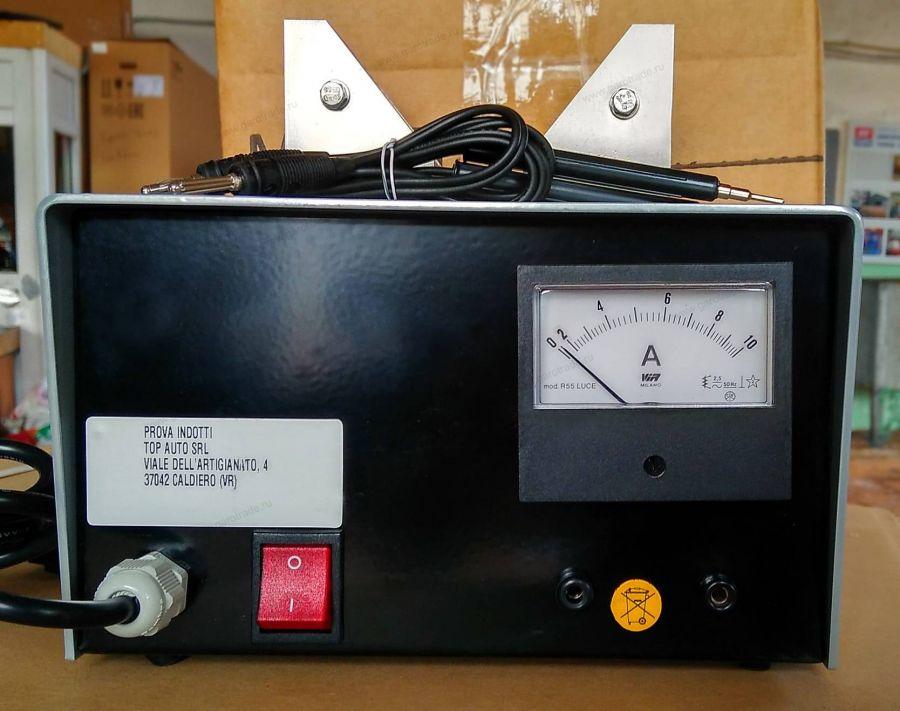 Прибор для проверки якорей стартера генератора электродвигателя на межвитковое замыкание