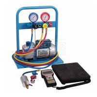 Комплект для заправки кондиционеров с 4-х вентильным коллектором