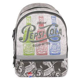 Рюкзак молодежный Газировка, серый, 44*30*13 см