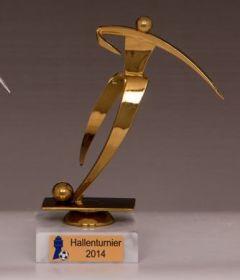 Фигурка футбол наградная футболист Лига чемпионов