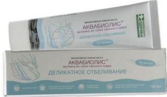 Зубная паста АКВАБИОЛИС «Деликатное отбеливание» 100 мл