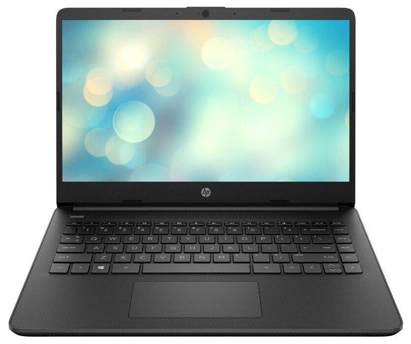Ноутбук HP 14s-fq0088ur Чёрный (3B3M2EA)