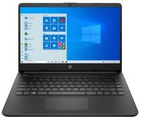 Ноутбук HP 14s-fq0023ur Чёрный (2X0J3EA)