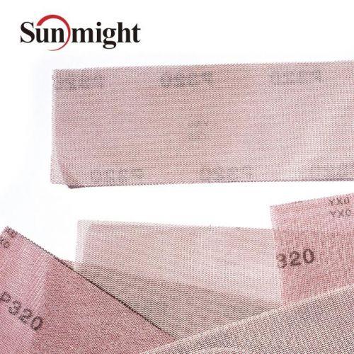 Сетчатый абразив на липучке SUN NET Р180 в полосках 70х420мм