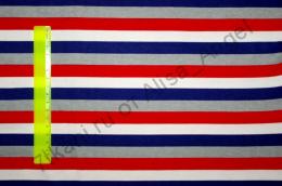 Цветная полоска синяя интерлок отрез 1,3м (ширина 160м)
