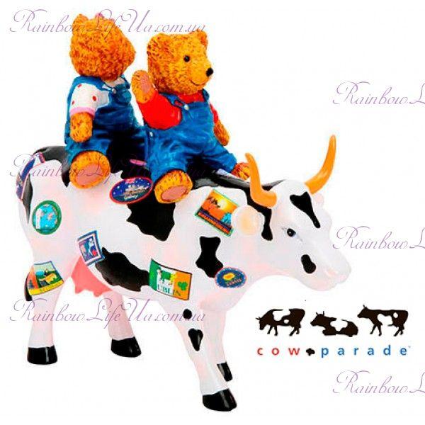 "Коллекционная статуэтка корова ""Teddy Bears on the Moove"", Size M"