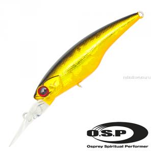 Воблер OSP Highcut F 60 мм / 5,1 гр / Заглубление: 2 - 2,5 м / цвет: m05