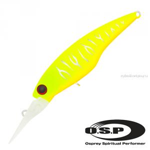 Воблер OSP Highcut F 60 мм / 5,1 гр / Заглубление: 2 - 2,5 м / цвет: m13