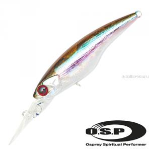 Воблер OSP Highcut 60SP 60 мм / 5,3 гр / Заглубление: 2 - 2,5 м / цвет: m07