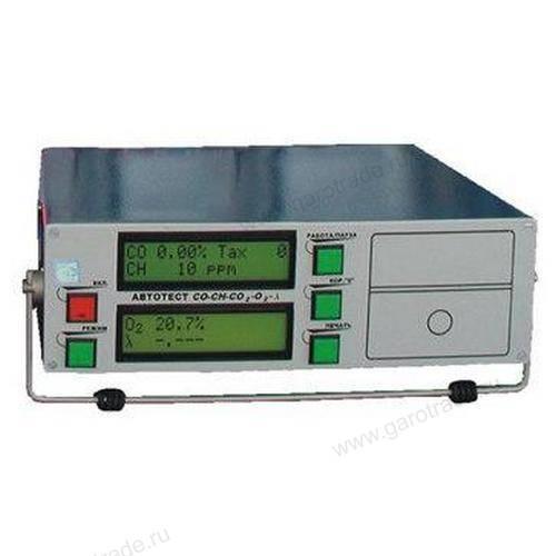 Автотест 02.02 газоанализатор 4-х компонентный (0 класс точности)