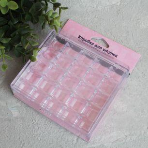 Контейнер-органайзер для хранения шпулек 105 х 120 х 28 мм.