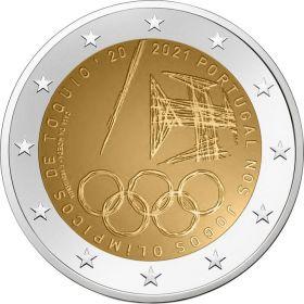 Олимпийские игры в Токио 2 евро Португалия 2021