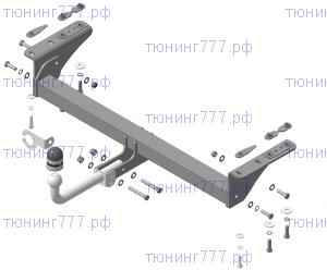 Фаркоп (тсу) Мотодор, крюк на болтах, тяга 1.5т