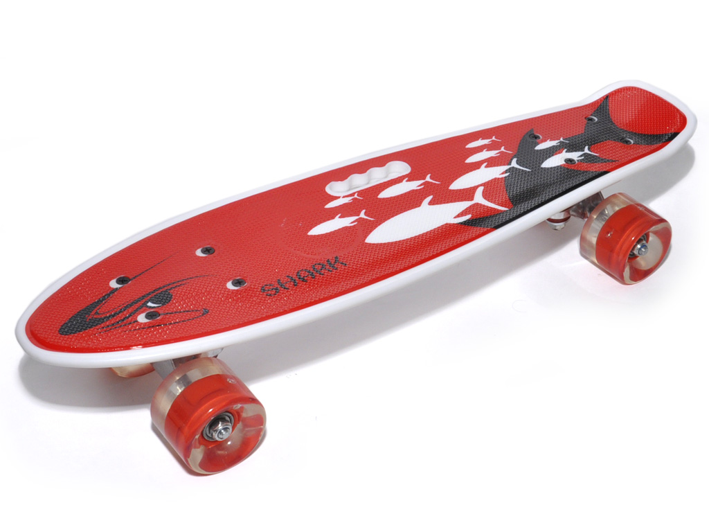 Скейт-мини Круизер SHARK, артикул 31527