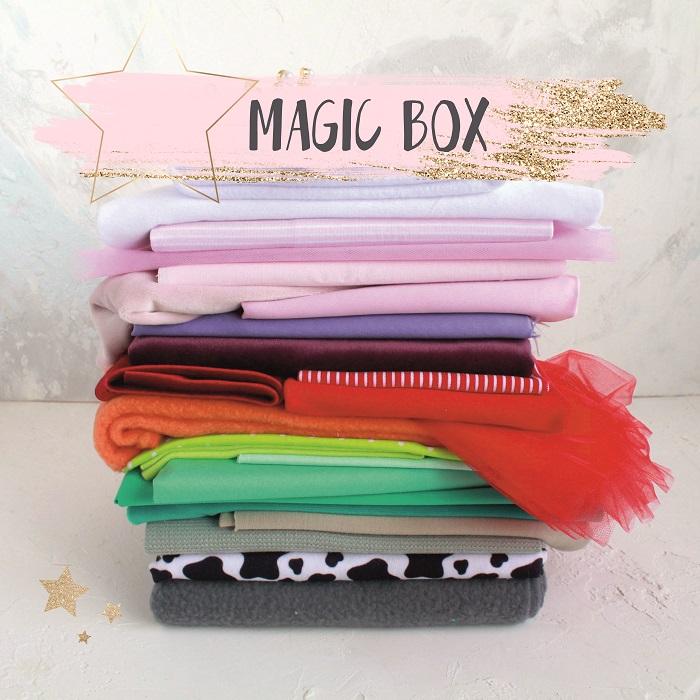 Набор тканей - Sale Magic Box (5 случайных отрезов)