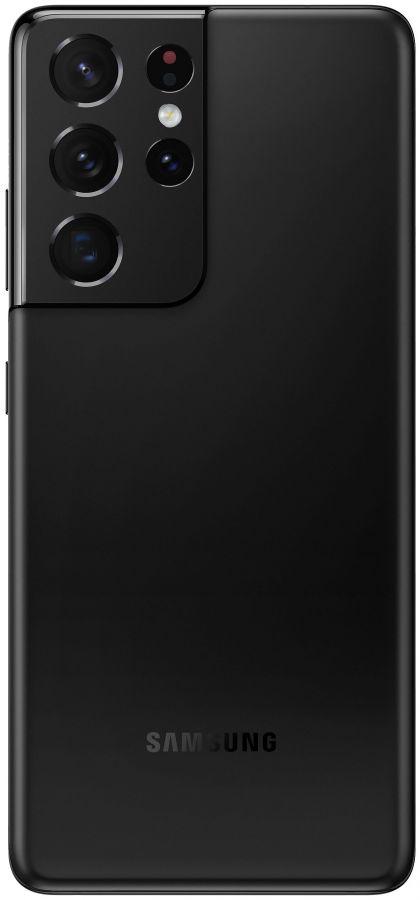 Смартфон Samsung Galaxy S21 Ultra 5G 12/256GB (Чёрный фантом)