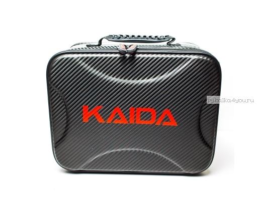 Чехол для катушек Kaida, Жесткий (карбоновый кейс), 32 см Артикул: PQ-003-2