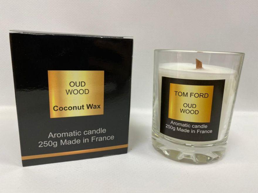 Парфюмерная свеча Tom Ford Oud Wood 250 мл