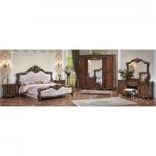 Спальня МОНРЕАЛЬ 1,8 5-дверный шкаф радика