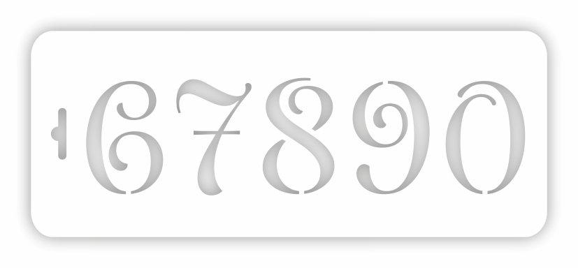 Трафарет для декора ВНТ2021-07, 10*25 см