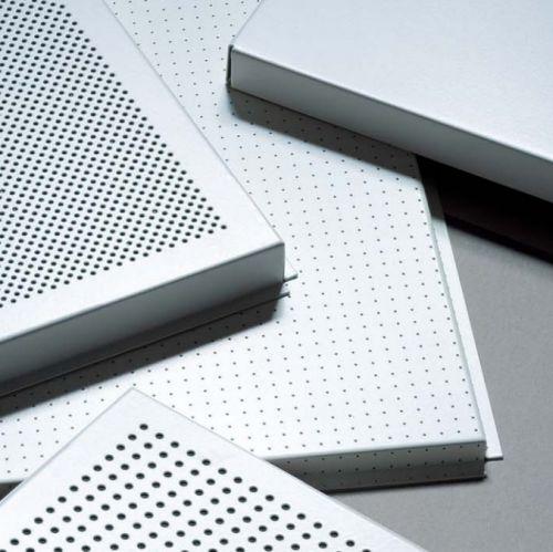 Потолочная плита Экстра Микроперфорация Rg 0701 с флисом 1800x400x33