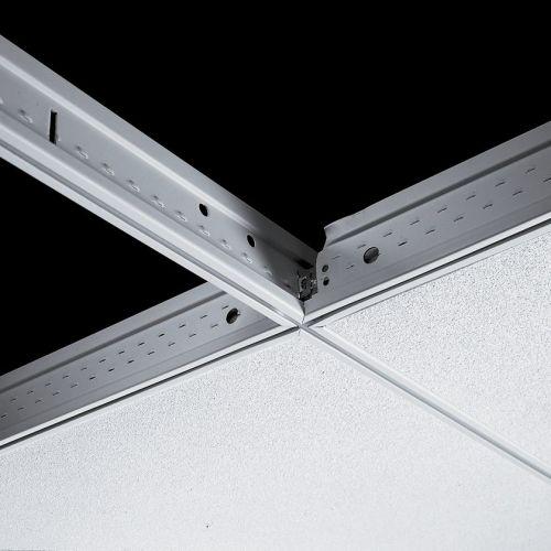 Поперечная рейка Silhouette 15XL 600x44 мм с щелью 6 мм (каркас черный)