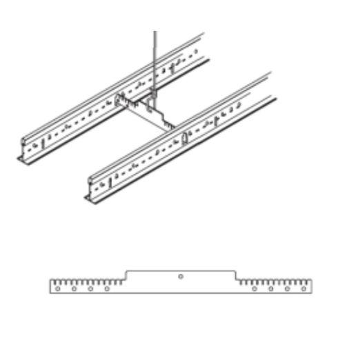 Горизонтальный фиксатор расстояния ARMSTRONG DGS для несущих реек, 229 мм (в коробке 100 шт)