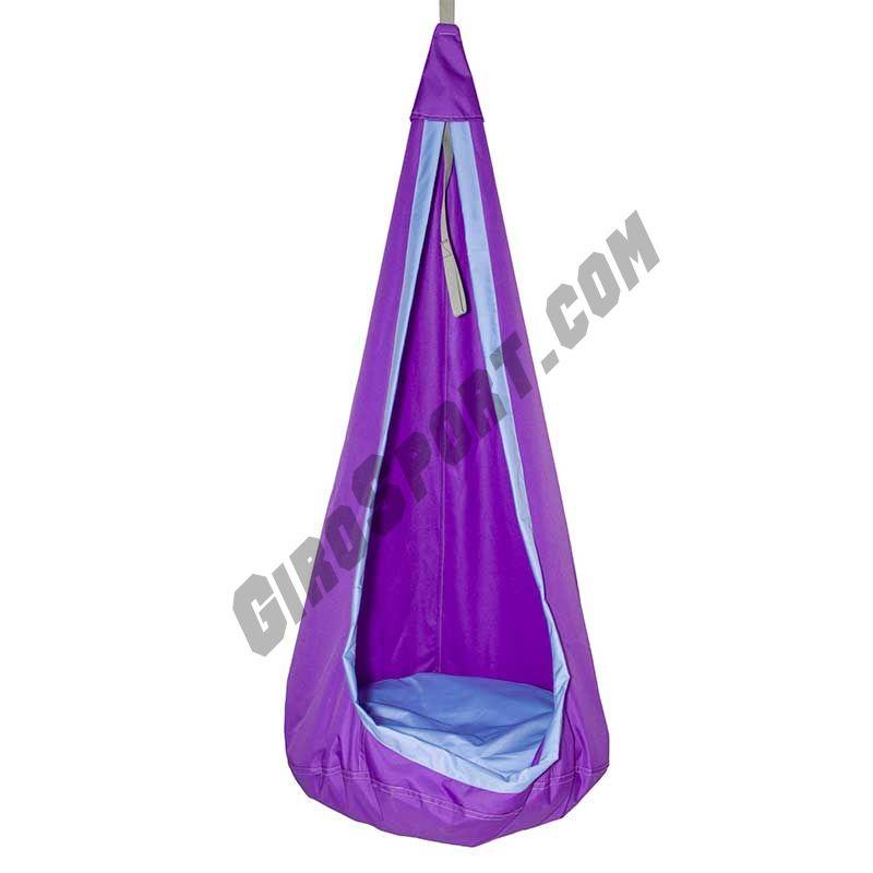 Гамак-кокон детский d-80см, фиолетовый