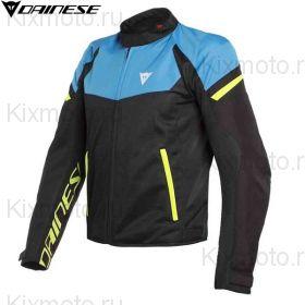 Куртка Dainese Bora Air, Black/Blue/Yellow